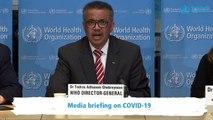 WHO Declares Coronavirus A 'Pandemic'