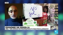 Epidémie de Covid-19 : l'OMS officialise la pandémie