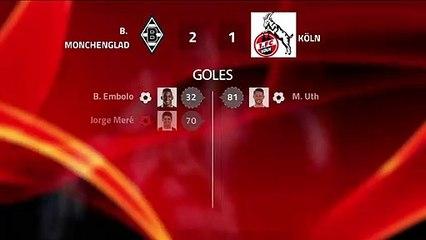 Resumen partido entre B. Monchengladbach y Köln Jornada 21 Bundesliga