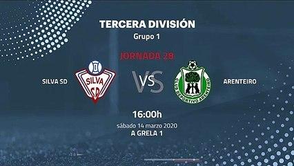 Previa partido entre Silva SD y Arenteiro Jornada 28 Tercera División