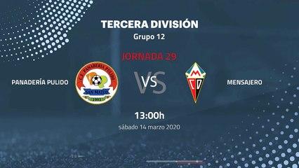 Previa partido entre Panadería Pulido y Mensajero Jornada 29 Tercera División