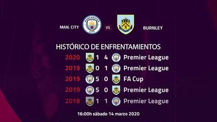 Previa partido entre Man. City y Burnley Jornada 30 Premier League