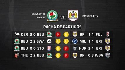 Previa partido entre Blackburn Rovers y Bristol City Jornada 38 Championship