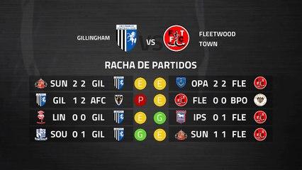 Previa partido entre Gillingham y Fleetwood Town Jornada 38 League One