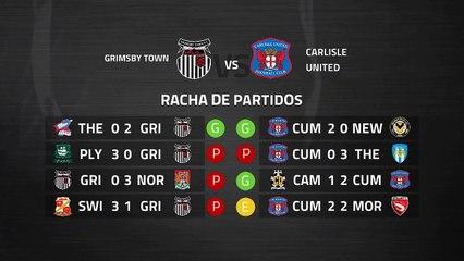 Previa partido entre Grimsby Town y Carlisle United Jornada 38 League Two