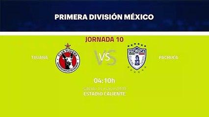 Previa partido entre Tijuana y Pachuca Jornada 10 Liga MX - Clausura