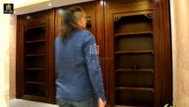 ZH-003 Bookcase Forward And Parallel Moving Combined Hidden Door--ZH-003 书柜前出平移组合密室门--隠しドア--Palace Concealed Compartment 宫暗格