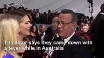 Tom Hanks announces positive test for coronavirus
