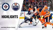 NHL Highlights | Jets @ Oilers 3/11/2020