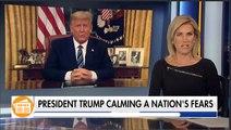 President Trump calming the nation's fear over coronavirus