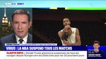 Coronavirus: la NBA suspend tous ses matchs après que le joueur Rudy Gobert a été testé positif