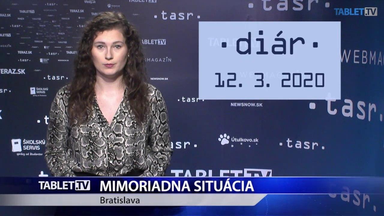 DIÁR: Na Slovensku platí pre koronavírus mimoriadna situácia, vláda predstaví ďalšie opatrenia proti jeho šíreniu