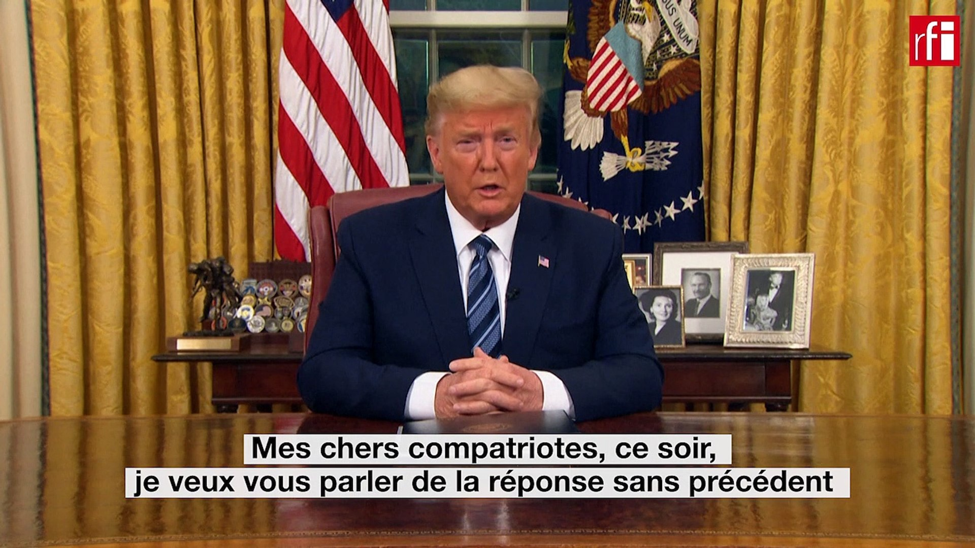 [vidéo] Trump-Coronavirus