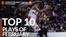 Turkish Airlines EuroLeague, Top 10 Plays of February!