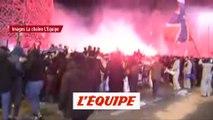 La folle soirée des supporters parisiens - Foot - C1 - PSG