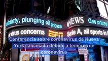 Conferencia sobre coronavirus de Nueva York cancelada debido a temores de coronavirus