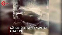 Ece Erken sevgilisi Şafak Mahmutyazıcıoğlu'nun eşinin arabasına saldırdı iddiası