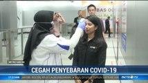 Cegah Virus Corona, MRT Jakarta Cek Suhu Tubuh Penumpang
