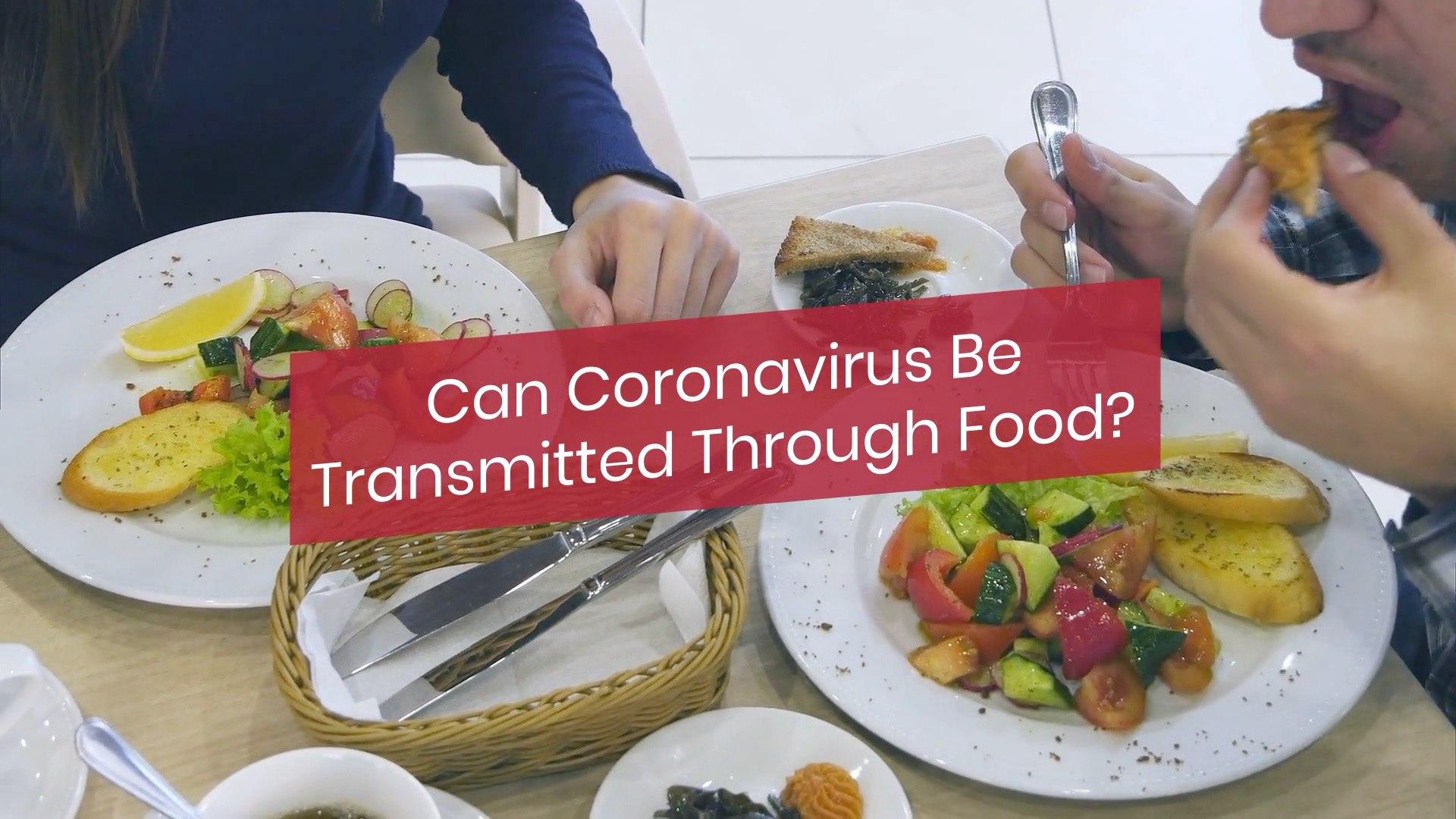 Coronavirus And Food