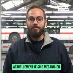 Mon histoire de formation | Rémi, ancien opticien, est devenu mécanicien de véhicules industriels