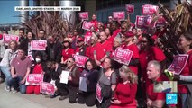 Coronavirus pandemic in the US: Nurses stage protests to call for better protection against virus