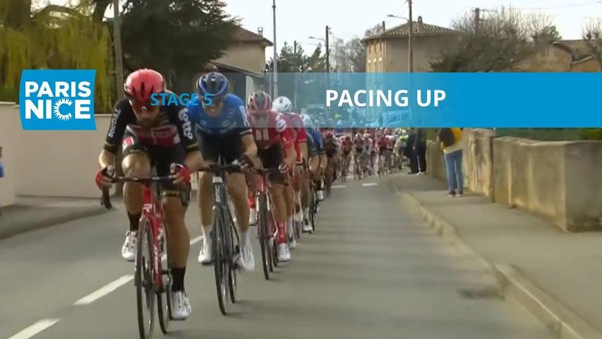 Paris-Nice 2020 - Étape 5 / Stage 5 - Pacing up