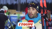 Fourcade «Boe a été meilleur que moi» - Biathlon - CM (H)