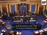 US Senate votes on US$700B financial bailout package
