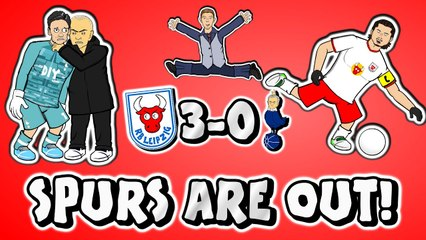 LOLs | RB Leipzig 3-0 Tottenham: The 'alternative' highlights