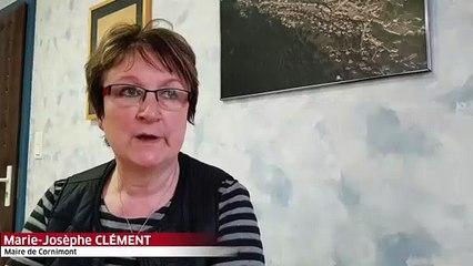 Coronavirus : la maire de Cornimont Marie-Josèphe Clément fait le point