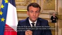 Coronavirus : l'allocution d'Emmanuel Macron