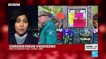Coronavirus Pandemic: COVID19 death toll tops 1,000 in Italy