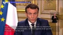 """Municipales: Emmanuel Macron affirme qu'il """"est important d'assurer la continuité de notre vie démocratique"""""""