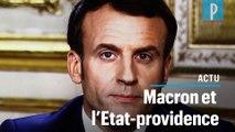 Emmanuel Macron : « Il y a des services qui doivent être placés  en dehors des lois du marché »