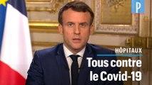 Coronavirus : Macron demande la mobilisation des «étudiants et retraités» de la médecine