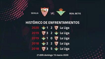 Previa partido entre Sevilla y Real Betis Jornada 28 Primera División