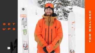Setups: Tom Wallisch's Powder Specific Ski Gear Setup