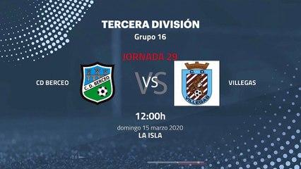 Previa partido entre CD Berceo y Villegas Jornada 29 Tercera División
