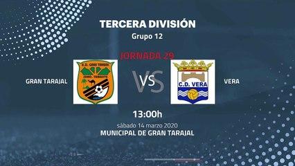 Previa partido entre Gran Tarajal y Vera Jornada 29 Tercera División