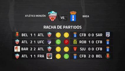 Previa partido entre Atlético Monzón y Brea Jornada 32 Tercera División