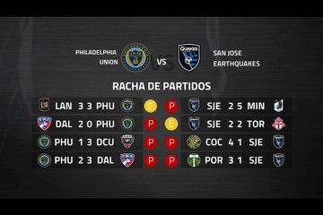 Previa partido entre Philadelphia Union y San Jose Earthquakes Jornada 4 MLS - Liga USA