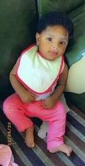 A pretty baby girl