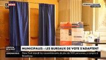 Bordeaux teste des bureaux de vote pour éviter de diffuser le coronavirus avant les élections municipales maintenues dimanche