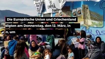 EU und Griechenland helfen Migranten bei der Rückkehr in ihre Heimat