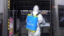 Bingöl'de 'Korona virüsüne' karşı dezenfekte önlemi