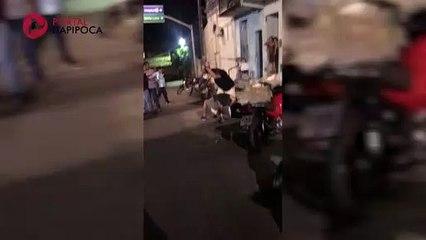 Vereador de Uruburetama é agredido na frente da Câmara Legislativa local