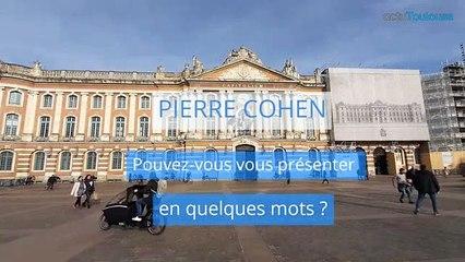 Pierre Cohen, candidat de la liste Pour la cohésion l'autre choix, pour les Municipales à Toulouse