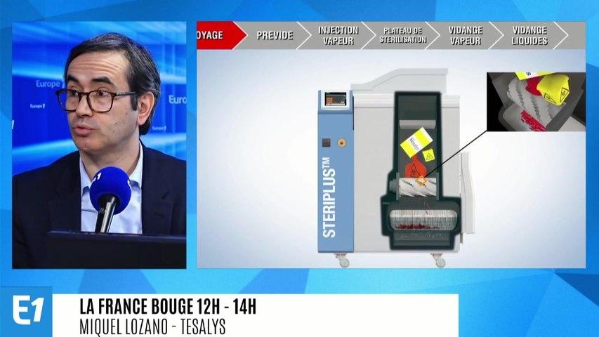La France bouge : Miquel Lozano, président de Tesalys, décontamination, stérilisation, traitement des déchets médicaux (entreprise de Toulouse)