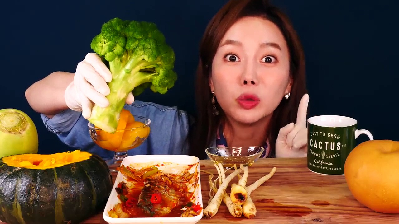 Mukbang Healthy food ASMR Eatingsound eatingshow