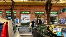Deserted streets, closed stores: Italian capital looks like ghost town